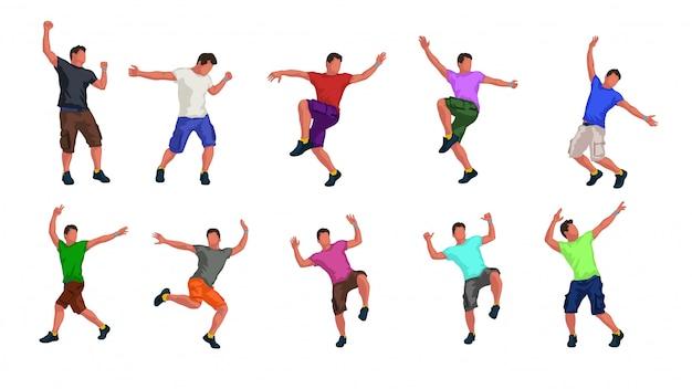 Set di ballerino maschio