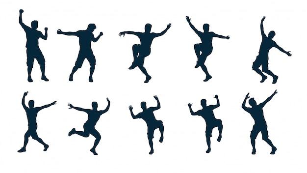 Ballerino silhouette maschile