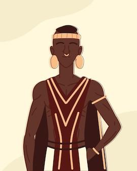 Uomo aborigeno o indigeno