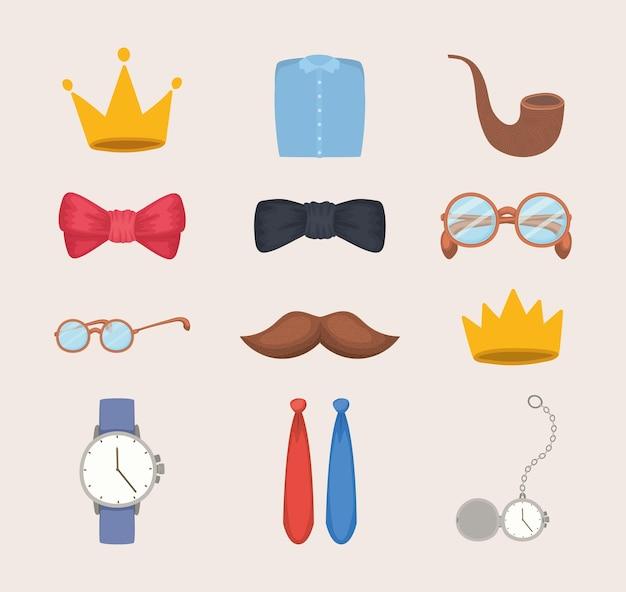 Set di accessori uomo