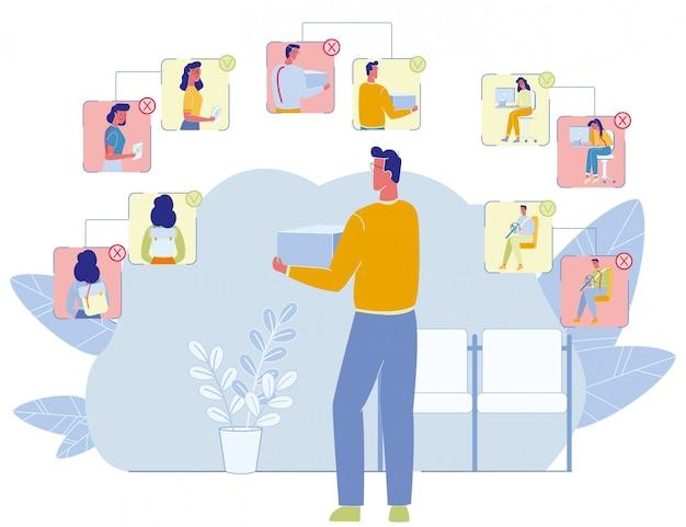 Regole di studio dell'uomo per la prevenzione dei disturbi spinali