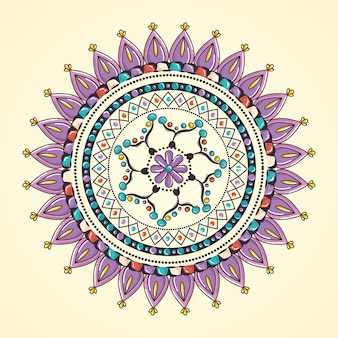 Icona decorativa di mandala