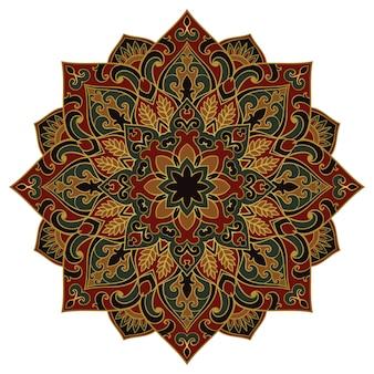 Mandala. design orientale.