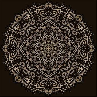 Mandala ornamento design.
