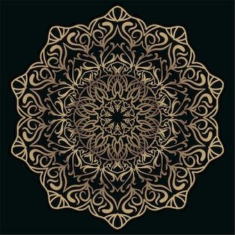Mandala ornamento o sfondo fiore.