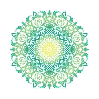 Ornamento mandala. elementi decorativi vintage. modello rotondo orientale disegnato a mano