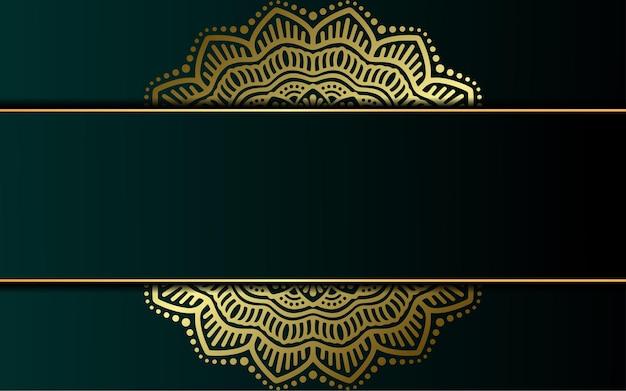 Sfondo ornamentale mandala