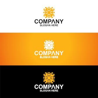 Logo premium mandala
