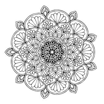 Libro da colorare mandala