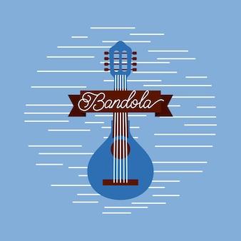 Celebrazione del festival musicale di strumento jazz mandolino