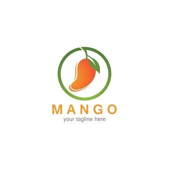 Logo del frutto del mango