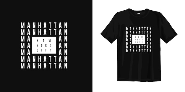 Design t-shirt manhattan new york city
