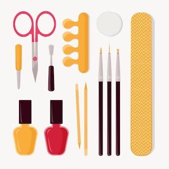 Set di strumenti per manicure