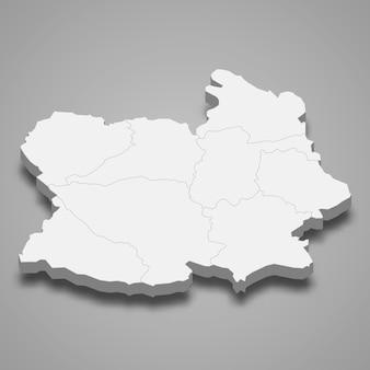 Mappa di chai nat è una provincia della thailandia