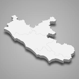 Mappa regione d'italia