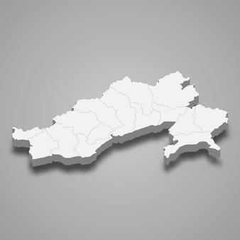 Mappa dello stato dell'india