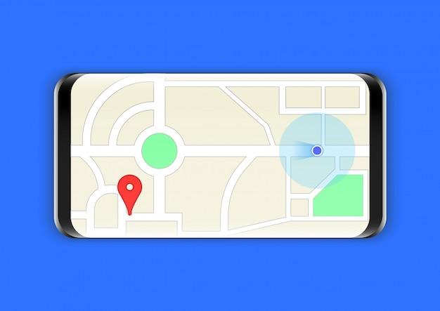 Mappe smartphone direzione