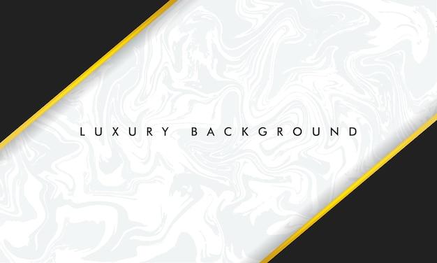 Sfondo in marmo design chic nei colori bianco e nero con oro