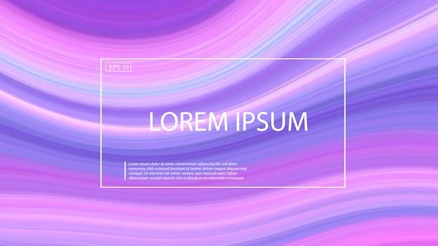 Marmo onda sfondo di colore di forma liquida. Vettore Premium