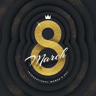 8 marzo - biglietto di auguri per la giornata internazionale della donna.