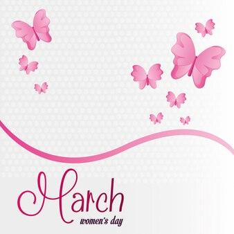 Celebrazione del giorno delle donne di marzo