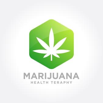 Icona di tema di marijuana
