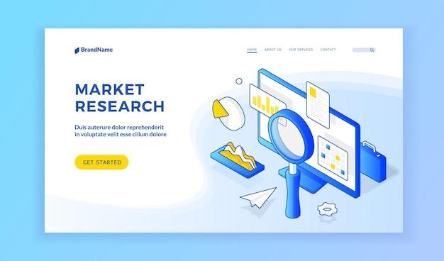 Sito web per ricerche di mercato