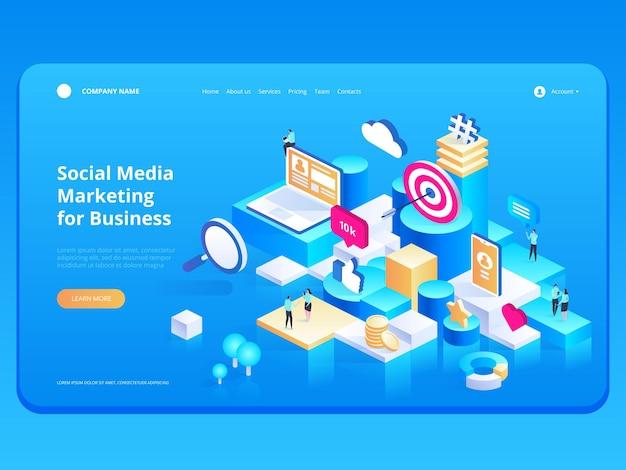 Strategia di marketing per la pagina di destinazione aziendale