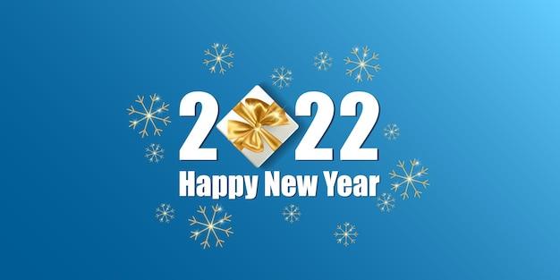 Buon natale e felice anno nuovo card Vettore Premium