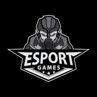 Mascot logo for sport e - sport