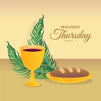 Illustrazione del giovedì santo
