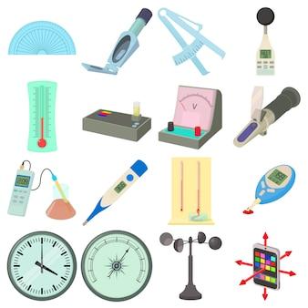 Set di icone di strumenti di misura