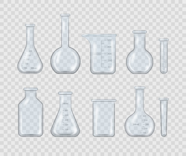 Misurazione di apparecchiature mediche isolate su sfondo trasparente