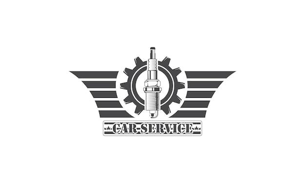 Servizi di progettazione del logo meccanico riparazione di ingegneria