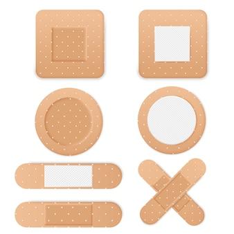 Set di cerotti di nastro adesivo medico