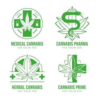 Pacchetto distintivi di cannabis medica