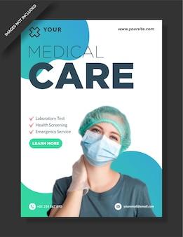 Modello di storie di instagram per cure mediche