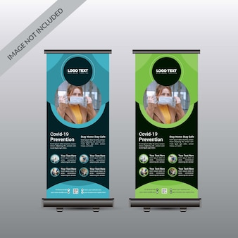 Clinica medica roll up banner