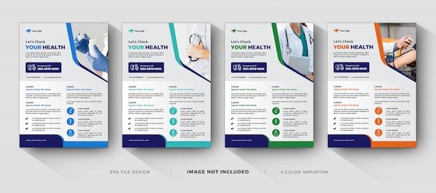 Modelli di volantini aziendali medici