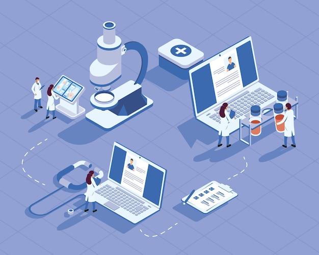 Gruppo di icone mediche