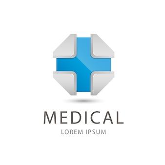Icona medica illustrazione isolato