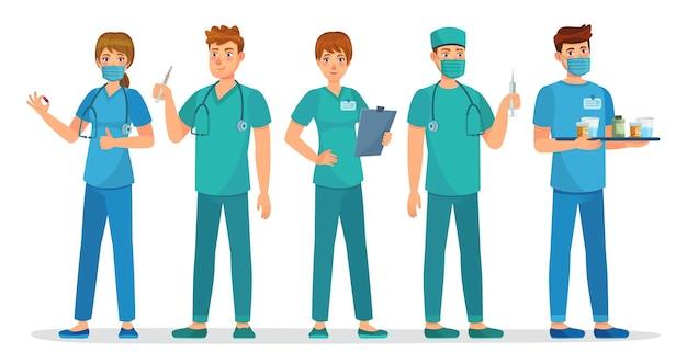 Squadra di medici interni