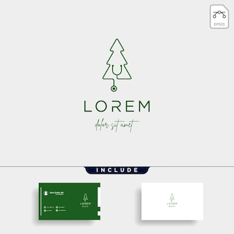 Medical leaf logo design vector nature medicine icon