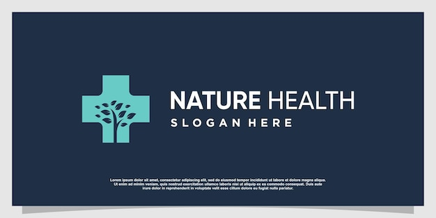 Logo medico con elemento creativo moderno vettore premium parte 5