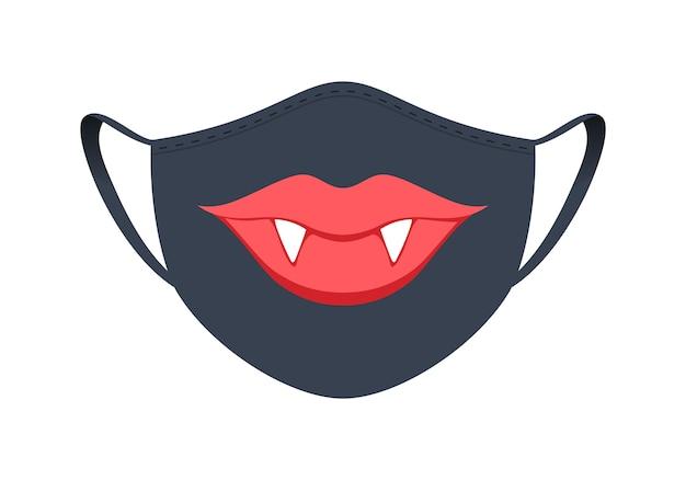 Maschera medica con un design divertente