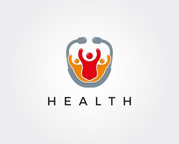 Modello di logo della farmacia medica
