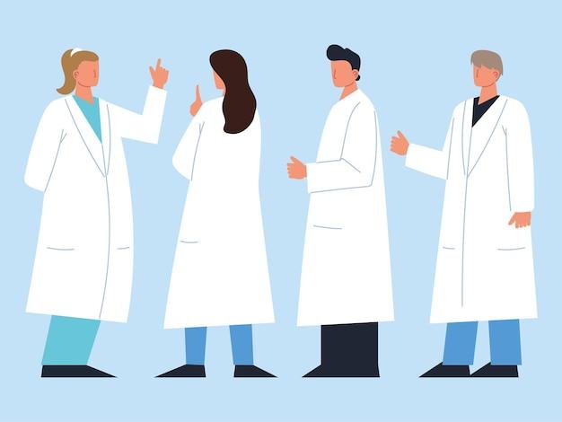 Personale medico professionale staff