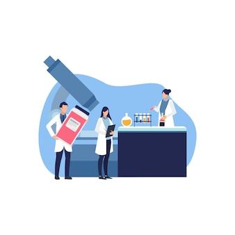 Supporto medico, assistenza sanitaria, laboratorio, servizi medici.