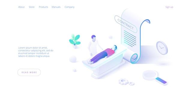 Assicurazione medica assistenza di sicurezza per la vita progettazione di diagnosi ospedaliere riempimento del documento di assistenza sanitaria c