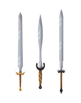 Design della collezione di armi medievali